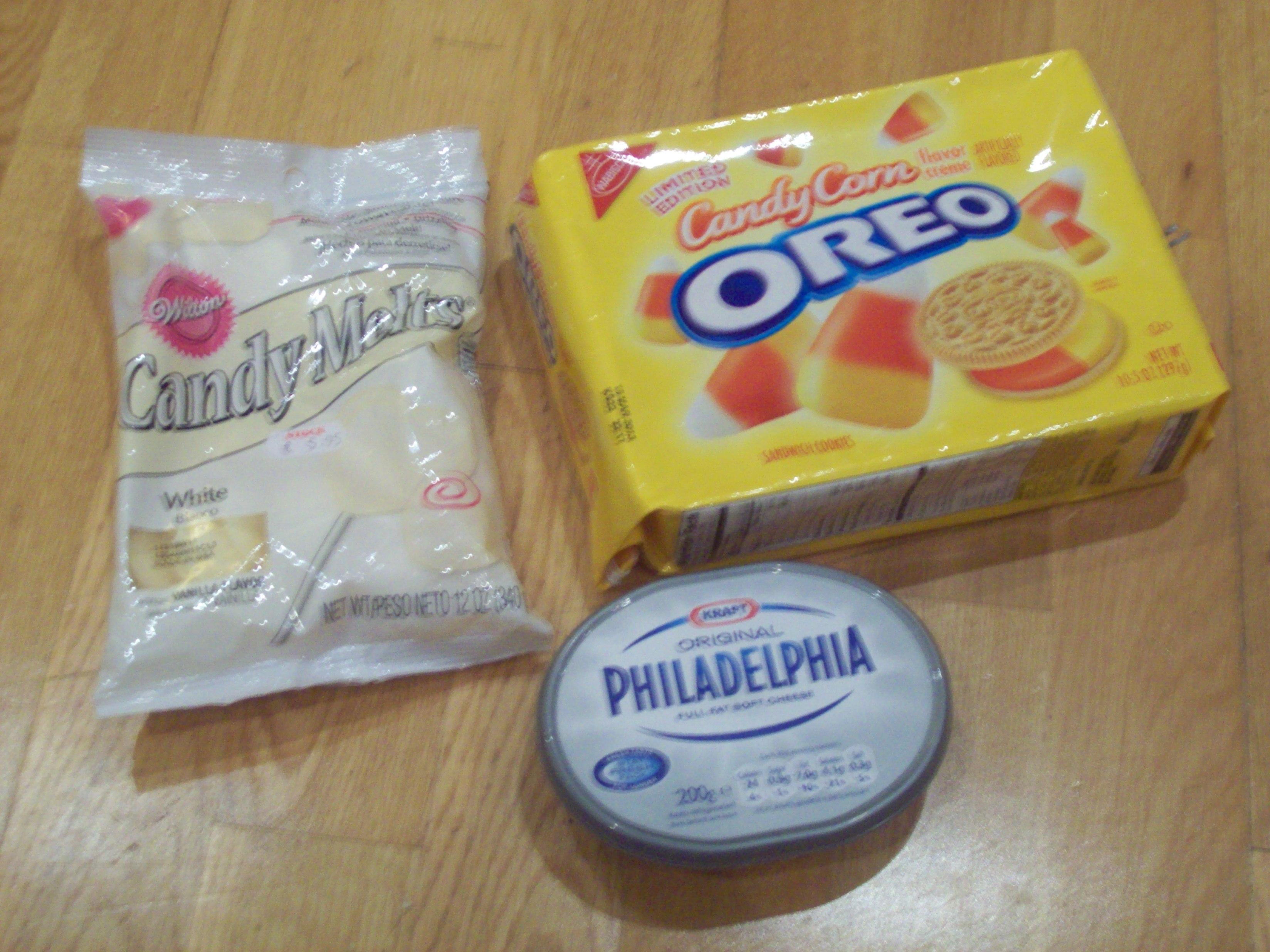Candy Corn Oreo Truffles | The Baking Beardy
