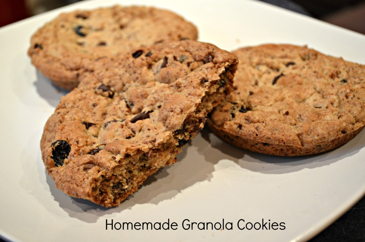 Homemade Granola Cookies | The Baking Beardy