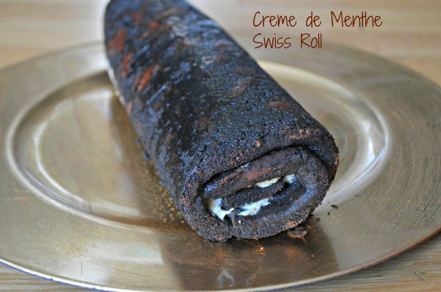 Chocolate Swiss Roll 1