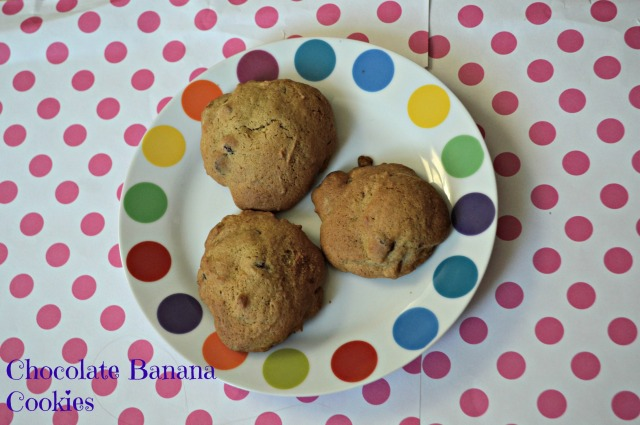 Chocolate Banana Cookies 1