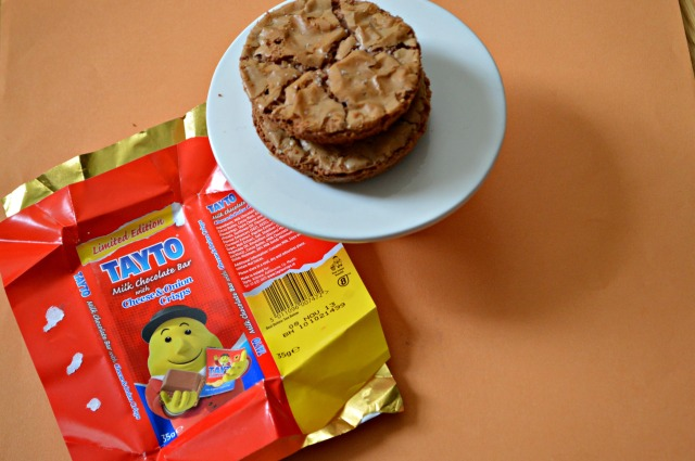 Irish Comedian Tayto Chocolate Cookies