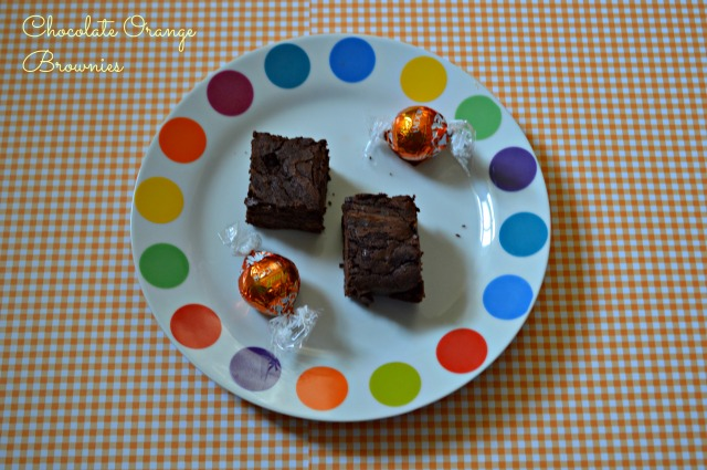 Chocolate Orange Brownies 1