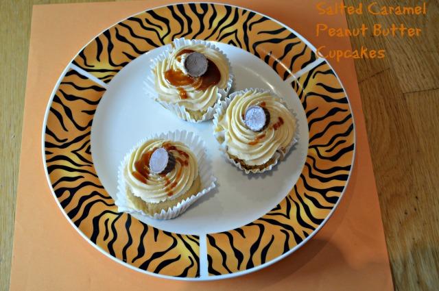 Salted Caramel Peanut Butter Cupcakes 1