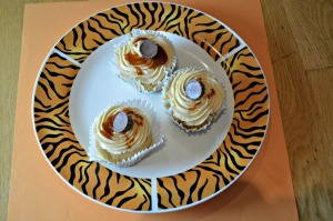 Salted Caramel Peanut Butter Cupcakes