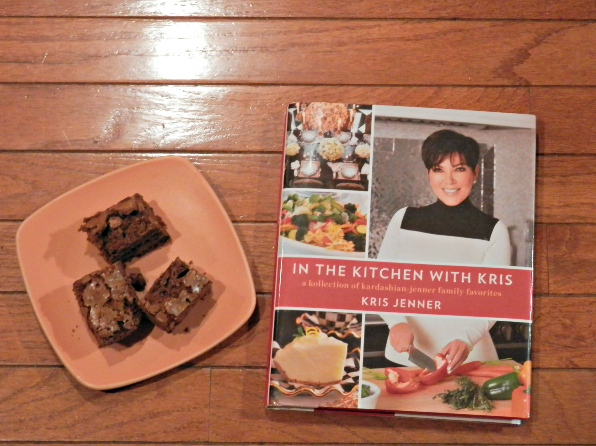 chocolate brownies and in the kitchen with kris | the baking beardy
