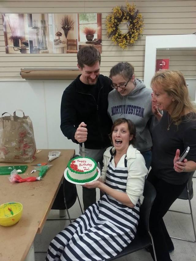 Wiltons Cake Decorating Class