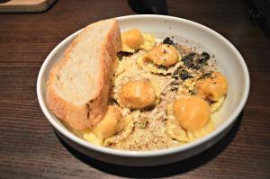 Butternut squash mascarpone ravioli