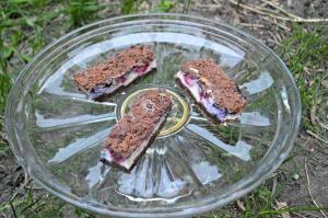 Chocolate Berry Cheesecake Bars
