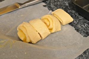 Cut them into rolls