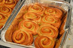 Golden rolls
