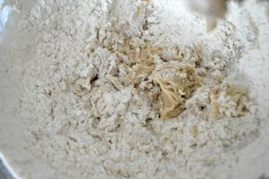 Sift in dry ingredients