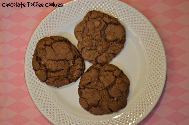 Chocolate Toffee Cookies 1